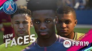 FIFA 19 Demo | PARIS SAINT GERMAIN NEW PLAYER FACES