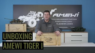 Unboxing & Erklärung @Amewi Tiger I Professional Line II 1:16