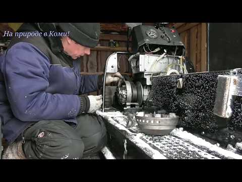 Снегоход Буран. Небольшой ТО. Вариатор Альпина.