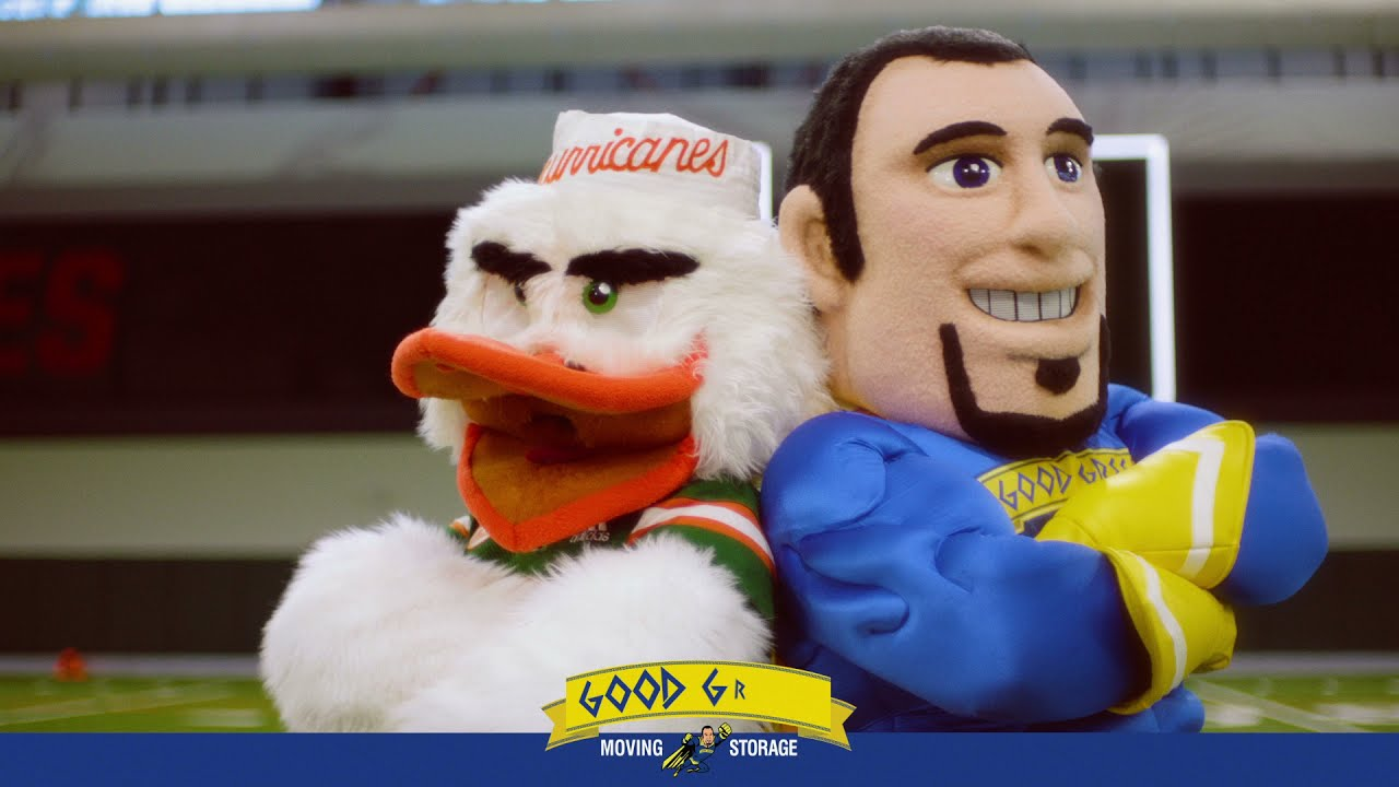 The Official Movers of The University of Miami Football Team