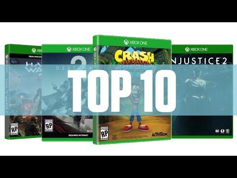 Top 10 - Mejores juegos Xbox One (2017)
