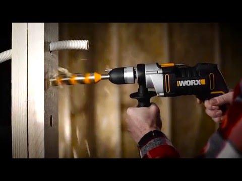 Taladro percutor 810W 13mm WX318 Worx