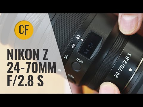 External Review Video 2NV0cYk-dvI for Nikon NIKKOR Z 24-70mm F/2.8 S Lens