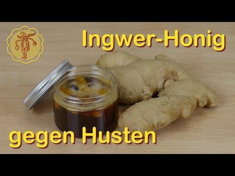 Hausmittel: Ingwer-Honig gegen Husten selber machen