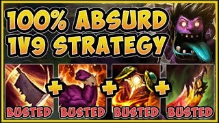 WTF RIOT! HOW IS A TANK DOING THIS MUCH DMG?? MUNDO SEASON 9 TOP GAMEPLAY! - League of Legends