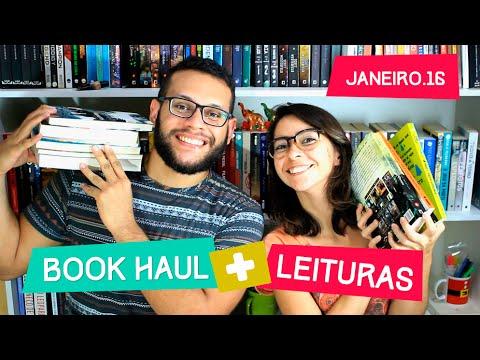 BOOK HAUL + LEITURA | Janeiro 2016