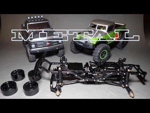 SCX24 full metal chassis