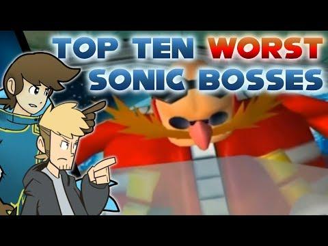Top Ten Worst Sonic the Hedgehog Bosses - Black Mage Maverick (ft. Silver)