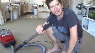 MIELE BLIZZARD CX1 (CAT & DOG) VACUUM CLEANER - PRODUCT DEMONSTRATION, TEST AND REVIEW