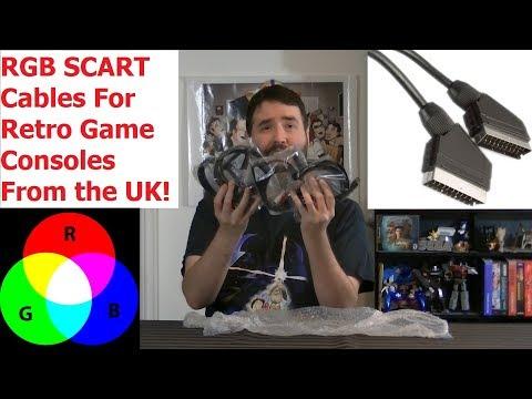 RGB SCART Cables for Retro Consoles Review - Adam Koralik