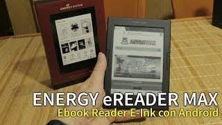 ENERGY eREADER MAX   Ebook Reader E-Ink con ANDROID