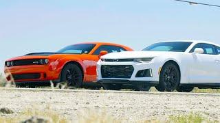 [MotorTrend] Dodge Challenger Hellcat Widebody vs Chevrolet Camaro ZL1