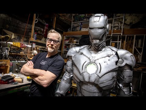 Adam Savage's One Day Builds: Iron Man Armor Stand!