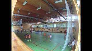 preview picture of video 'Handballcamp Budenheim 2014 Dienstag'