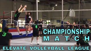 EVL Championship Match 2018 - Slam Squad vs Edwards (Elevate Volleyball League)