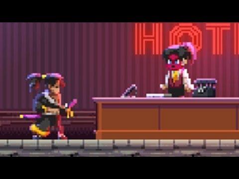 [Katana ZERO] Flirting with the receptionist