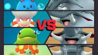 Slowking  - (Pokémon) - Pokémon GO Gym Battles Level 10 Donphan Gym Slowking Politoed Bellossom Slowpoke Azumarill & more