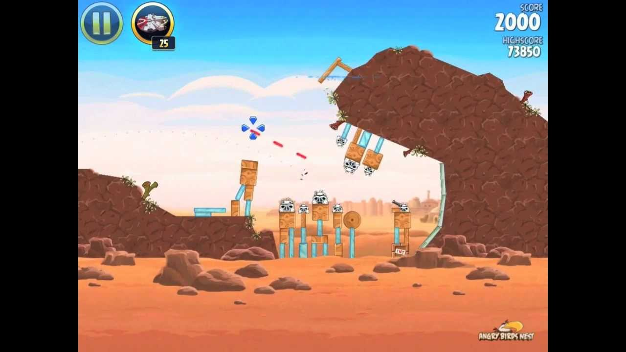 Here's How To Get The Golden Droids In Angry Birds Star Wars