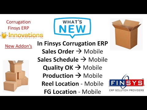 What's New in Finsys ERP – Superb Ideas, Bar Codes