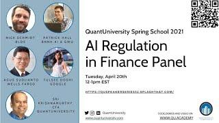 AI Regulation in Finance Panel