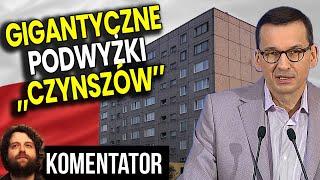 Gigantyczne Podwyżki Czynszów i Opłat za Mieszkanie w Całej Polsce