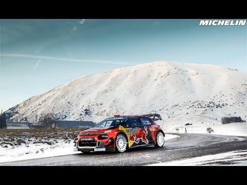 Leg 3 Top Moment - 2019 @officialWRC #RallyeMonteCarlo - Michelin Motorsport