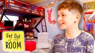 Teen Gets GAMING MAN CAVE Bedroom! 🎮👾| Get Out Of My Room | Universal Kids