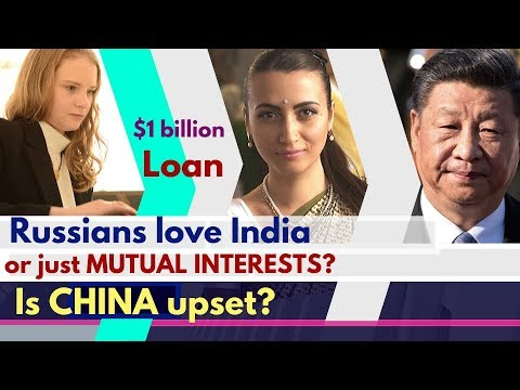 Russians love India or NOT? | India–Russia Relations | 1 Billion Dollar Loan | Karolina Goswami