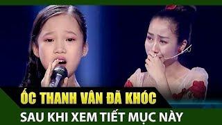 Ốc Thanh Vân rơi nước mắt khi giọng hát nhí Cẩm Linh - Anh Thư thể hiện ca khúc Khát Vọng   TDSCN #4
