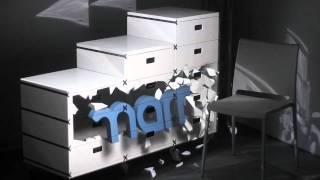 Videomapping 3D Marro Designtech Szafka i Krzesło