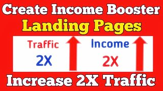 Create Free Landing Page for Affiliate Marketing Build Unlimited Email List