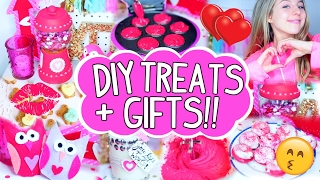 DIY Valentines Day Treats + Gifts!! | Gifts For Boyfriend, Friends, And More!!