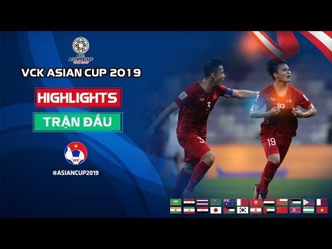 Quang Hải vẽ cầu vồng, ĐT Việt Nam rộng cửa vào vòng 1/8 Asian Cup 2019