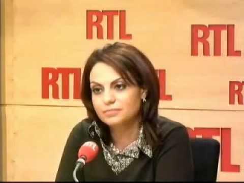 Sihem Souid invitée de RTL (14 octobre 2010)