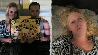 THE OUIJA BOARD CHALLENGE! *DO NOT ATTEMPT* - SHE GOT POSSESSED!?