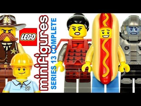Vidéo LEGO Minifigures 71008 : Série 13