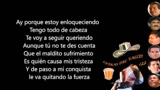 Todo de Cabeza - Kaleth Morales (Letra)