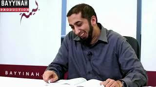 Strange Tarawih events- VERY FUNNY! Nouman Ali Khan