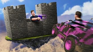 Cars VS. Castle Challenge! | GTA5