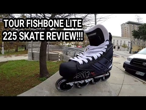 #106 Tour FishBone Lite 225 Skate Review!!! (Narrated)