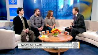 Hidden cameras expose adoption scam