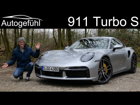 all-new Porsche 911 Turbo S FULL REVIEW 2020 992 with Autobahn test - Autogefühl