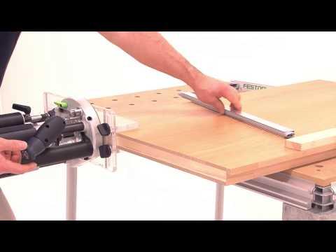 Festool TV Folge 8: Fräshilfe OF-FH - automatische Türabdichtung einfräsen