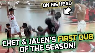 7 Foot Chet Holmgren Bullies Team With Near TRIPLE DOUBLE! Jalen Suggs Couldn't Watch THIS POSTER! 🙈