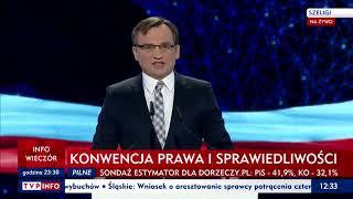 """Minister Ziobro: """"Wiarygodność to w polityce rzecz bezcenna. Nasz rząd przywraca Polakom godność"""""""