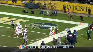 Notre Dame   Miami Game Highlights