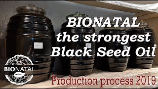 BioNatal black seed oil production 2019