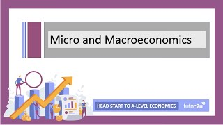 Introduction to Micro and Macroeconomics | Head Start in A-Level Economics