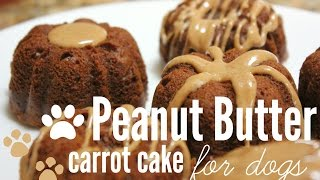 How To Make Peanut Butter Carrot Cake (for Dogs) | Rachel Republic