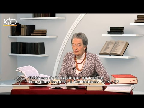 Dédicace du Latran année A - 2e lecture